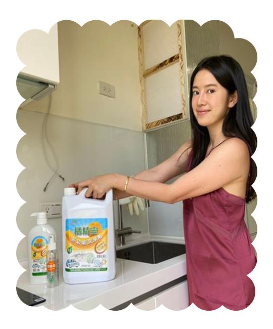 橘精靈 多功能洗淨劑 天然清香 打掃好幫手